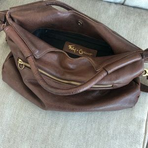 Foley + Corinna leather bag